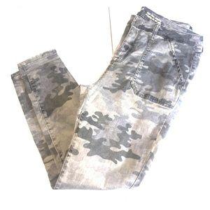 Black, Gray, White 12 Camo High Waist Jeggings
